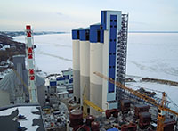 CONSTRUCTION of  A CEMENT PLANT on the DRY METHOD with CAPACITY of 1.2 million tons per year of ONE PRODUCTION LINE
