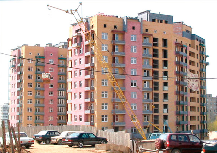 Residential complex Rodionova street