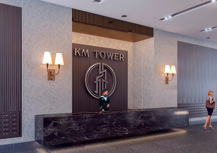 Residential compound KM TOWER  PLAZA